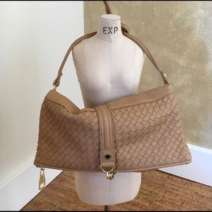 The cutest crossbody woven bag by Steve Madden